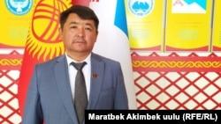 Салман Назылбеков.