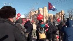 Забастовка избирателей в Иркутске