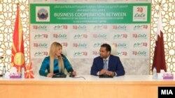 В.Д. амбасадорка на Македонија во Катар, Елма Алторок и Мохамед Алтхаф, директор на хипермаркетите Лулу од Катар