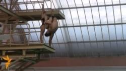 Українські стрибуни у воду тренуються