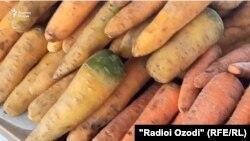 В Средней Азии подорожали морковь.