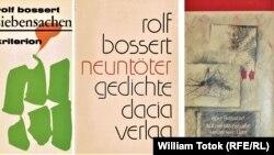 Rolf Bossert, volume de poezii