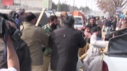Pakistani Protesters Scuffle With Police Amid Fuel Shortages