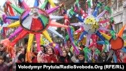 Різдвяна хода, Сімферополь, 2012 рік