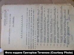 Наказ розстріляти 47 засуджених, серед яких і Євстафій Тичина (35 у списку)