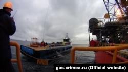 Бурова платформа «Чорноморнафтогазу»