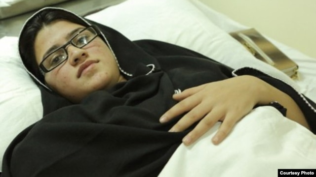 Kainat Ahmad, seen here recuperating in a Pakistani hospital shortly after the attack, says Malala's courage and defiance has made her an inspiration to a generation of Pashtun girls.