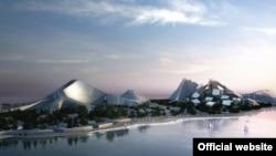 «Yeddi zirvə» layihəsinin baş planının dizaynını Bjarke İngels Group (BİG) verib