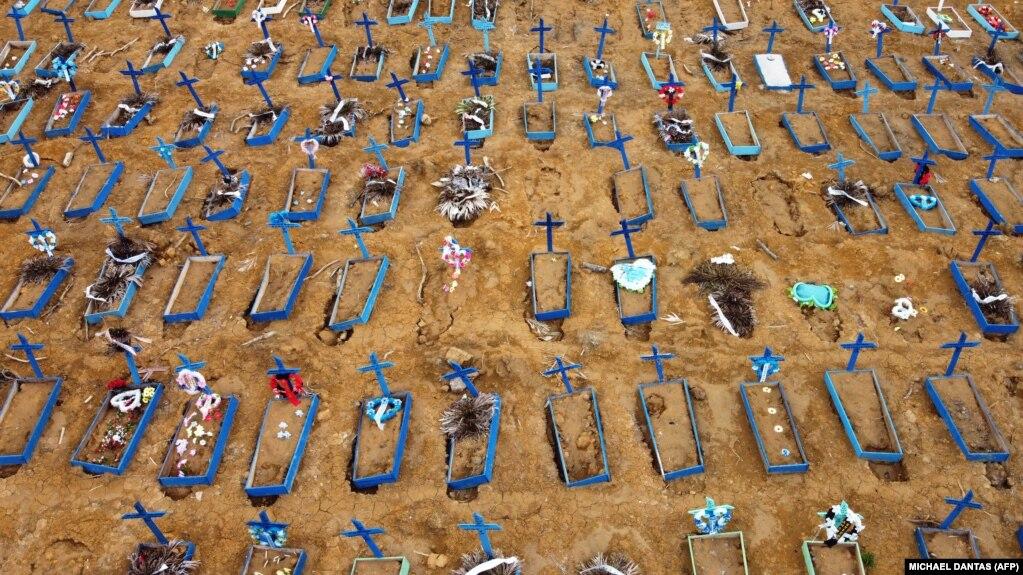 شمار قربانیان کووید-۱۹ در برزیل «اواسط تابستان شاید به ۱۲۰ هزار تن برسد»