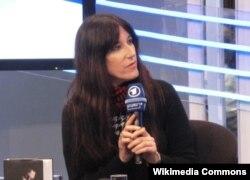 Zeruya Shalev 2012-ci ildə Leipzing kitab sərgisində.