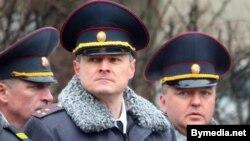 Ігар Шуневич (у цэнтры), архіўнае фота