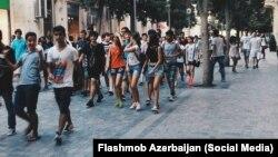 Bakıda şortikə dəstək aksiyası - 2 avqust 2015