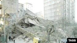 первичные расследования не подтвердили факт обвала дома в результате взрыва