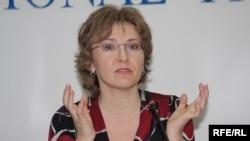 «Голос Республики» газетінің бас редакторы Татьяна Трубачева. Алматы, 22 ақпан 2010 жыл.