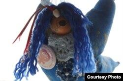 Синяя звезда - символ феминистского активизма в Бергене