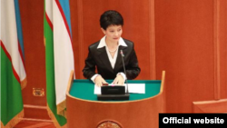 Uzbekistan - senator Svetlana Ortikova