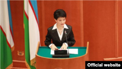 Deputy Uzbek Deputy Prosecutor-General Svetlana Artykova also served in the country's Senate. (file photo)