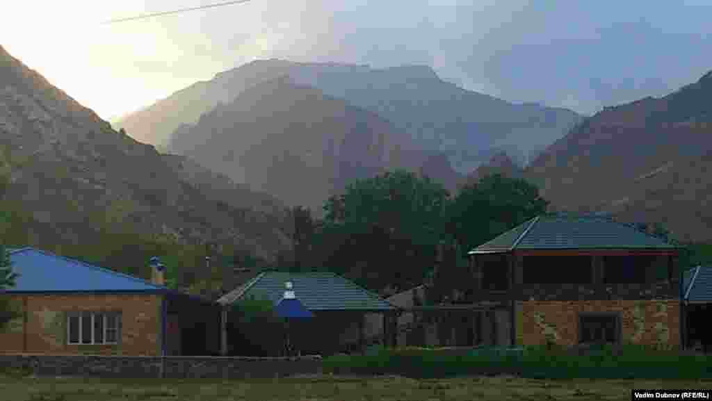 Гергебильские горы, село Кикуни. Увидеть закат и отведать урбеч