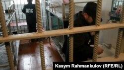 Заключенные в камере. Иллюстративное фото.