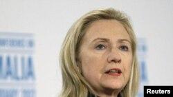 АҚШ мемлекеттік хатшысы Хиллари Клинтон. 23 ақпан. 2012 жыл