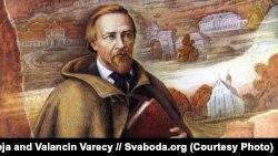 Напалеон Орда. Фрагмэнт карціны Ляілі іВалянціна Варэцаў
