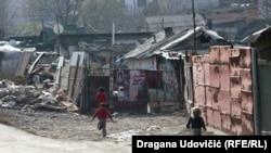 Romsko naselje Mali Leskovac u Beogradu