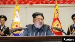 Шимолий Корея раҳбари Ким Чен Ун.