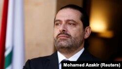 Kryeministri në shkuarje i Libanit, Saad al-Hariri.