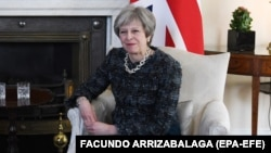 د بریتانیا صدراعظمه ترزا مې