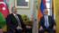 Швейцария -- Президенты Армении и Азербайджана - Серж Саргсян (справа) и Ильхам Алиев, Женева, 16 октября 2017 г.