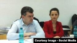 Alături de George Bălan, şeful Biroului de Reintegrare