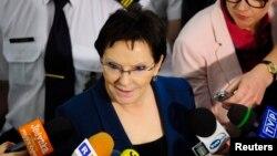 Председатель сейма Польши Эва Копач – один из главных претендентов на пост нового премьера
