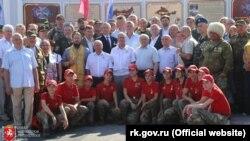 Крымский вице-премьер Игорь Михайличенко на праздновании пятилетия «самообороны», Симферополь, 26 июля 2019 года