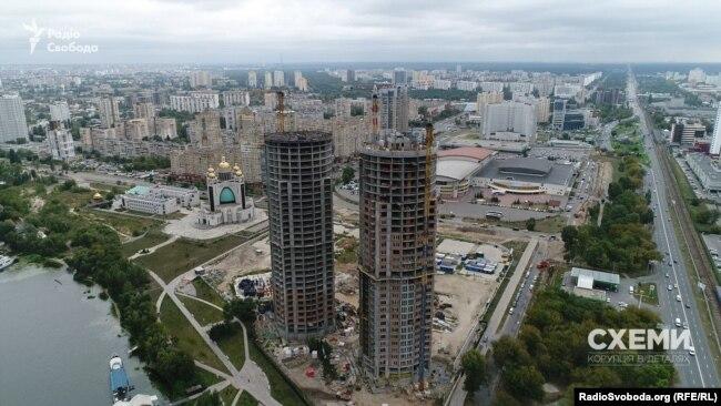 ЖК «Сонячна Рівєра» – одне із найскандальніших будівництв Києва