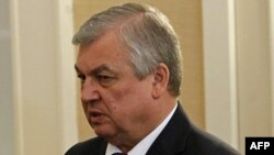 Aleksandr Lavrentyev, President Vladimir Putin's special representative at international talks on the war in Syria (file photo)