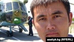 Kyrgyzstan- Jengish Aidarov, Radio Azattyk correspondent, Batken region.1Aug2013