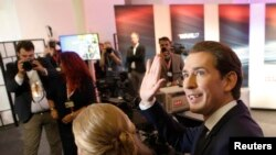 Австрискиот министер за надворешни работи Себастијан Курц прогласи победа на неговата Австриска народна партија на вчерашните парламентарни избори.