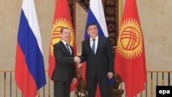 Медведев и Жээнбеков.