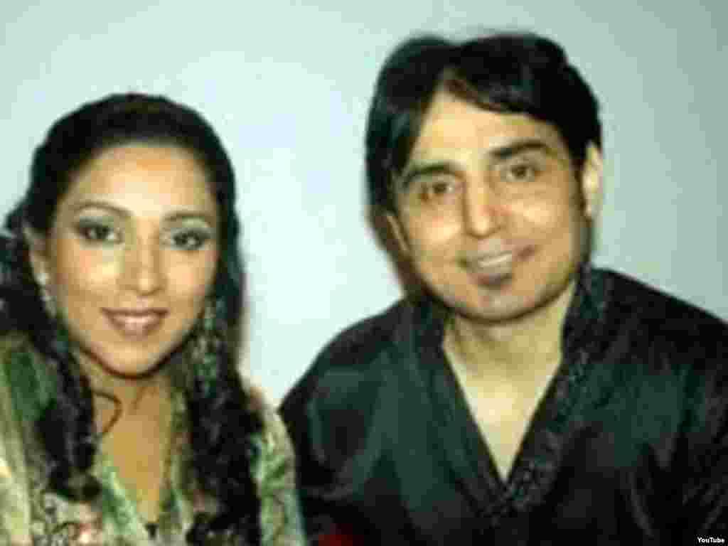 Афганские эстрадные звезды Нафиз Али и Диваяни Али.