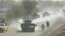 Afghan Security Forces Battle Taliban In Kunduz