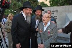 102-летний фронтовик Давид Ошерович Баруля