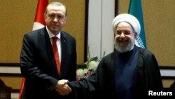 R.T.Erdoğan və H.Rohani