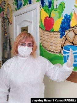 Медсестра Наталія Козак
