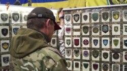 Волонтери презентували першу в Україні колекцію шевронів (відео)