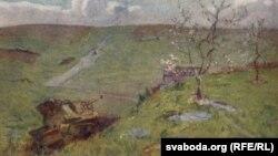 Вітольд Бялыніцкі-Біруля, «Беларусь. Ізноў заквітнела вясна», 1947.