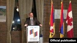 Կանադա - Կարեն Միրզոյանի ելույթը «Հայաստան» համահայկական հիմնադրամի տարեկան գալա երեկոյին, 26-ը հոկտեմբերի, 2014 թվական