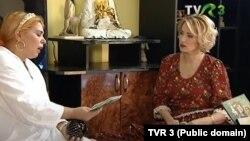 Ramona Săseanu, în timpul unui interviu cu o pretinsă ghicitoare, difuzat de TVR 3.