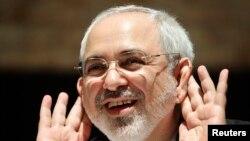 وزیر خارجه ایران در کنفرانس مطبوعاتی پانزدهم ژوئیه