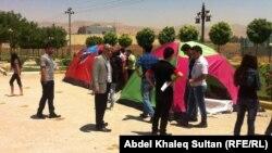 شبّان في مخيم بدهوك لترسيخ مبدأ التعايش السلمي