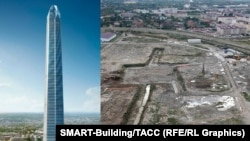 Ахмат-Тауэр: проект и реальность по состоянию на октябрь 2016 г. (более свежего на сайте строительной компании нет)